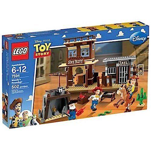 100% de LEGO juguete historia Woody's Round-Up 7594 NISB Nuevo