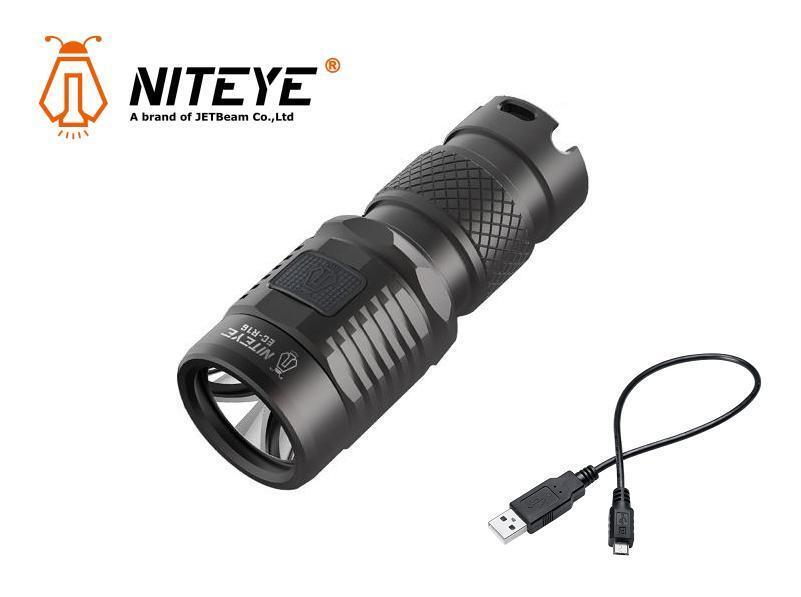 New Jetbeam Niteye EC-R16 Cree XP-L 750 Lumens USB Charge LED Flashlight Torch