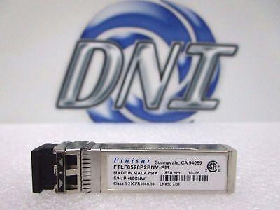 Finisar FTLF8528P2BNV-EM 8GB 850nm SFP Fibre Optical Transceiver Module HSS