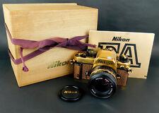NIKON FA gold limited Edition 2000 SLR Film Camera + 50mm f/1.4 from japan rare