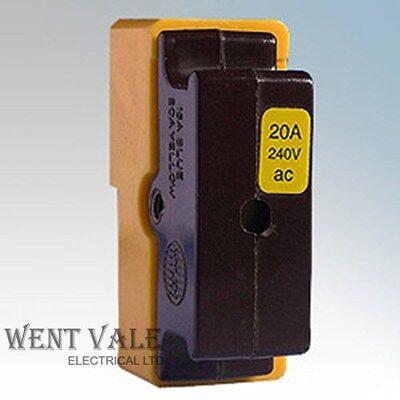 wylex standard fuse box wylex standard range wyc20 20 amp bs1361 cartridge fuse holder  20 amp bs1361 cartridge fuse holder