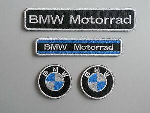 BMW-KIT-4-TOPPE-PATCH-RICAMATE-TERMOADESIVE
