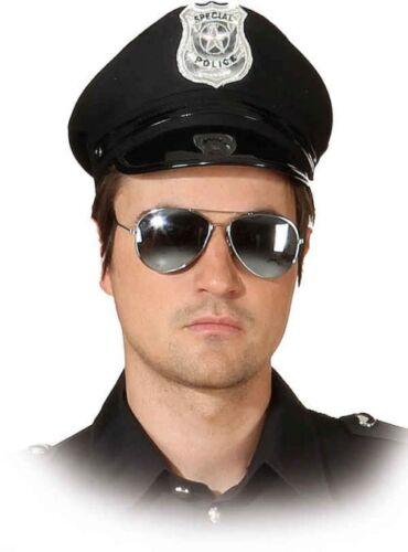 Polizistin Kostüm Zubehör Mini Polizeimütze Karneval Fasching SMI