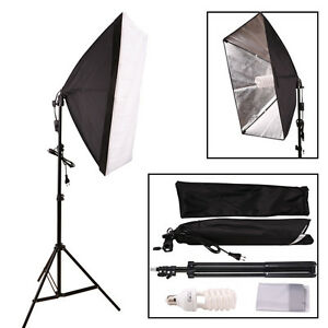 profi softbox set fotostudio set studioleuchte e27. Black Bedroom Furniture Sets. Home Design Ideas