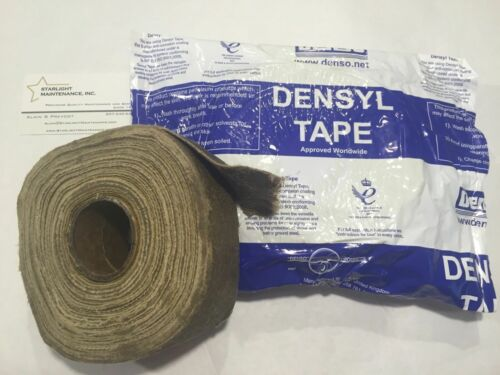 "DENSO All Purpose Petrolatum Tape LOCATED IN USA 2/""x33/' Densyl Tape"