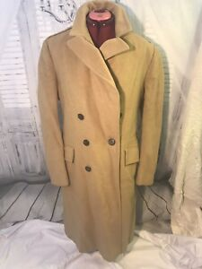 latest design select for original hot-selling real Details about Vintage 100% Pure Wool Tan Trench Coat Mens Sz 42R
