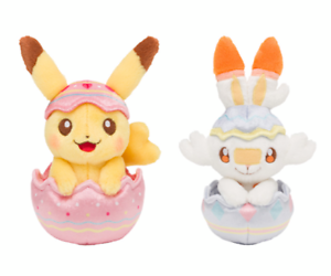 "Pre order Pokemon Plush doll /""Pokémon Easter 2021/"" limited Pokemon center"