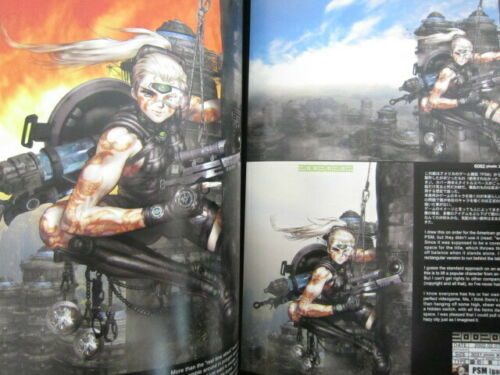 SHIROW MASAMUNE Illustration INTRON DEPOT 3 BALLISTICS 2003 Art Book 48*