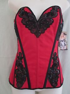 X29087-Shirley-of-Hollywood-Corset-Red-Black-38C-D