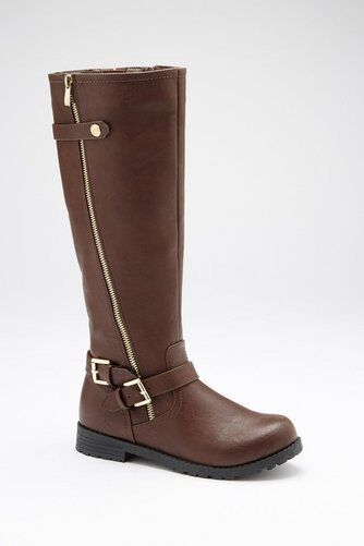 Be You Double Buckle Boot's  Brown  Size UK 5 EU 38 NH085 CC 03