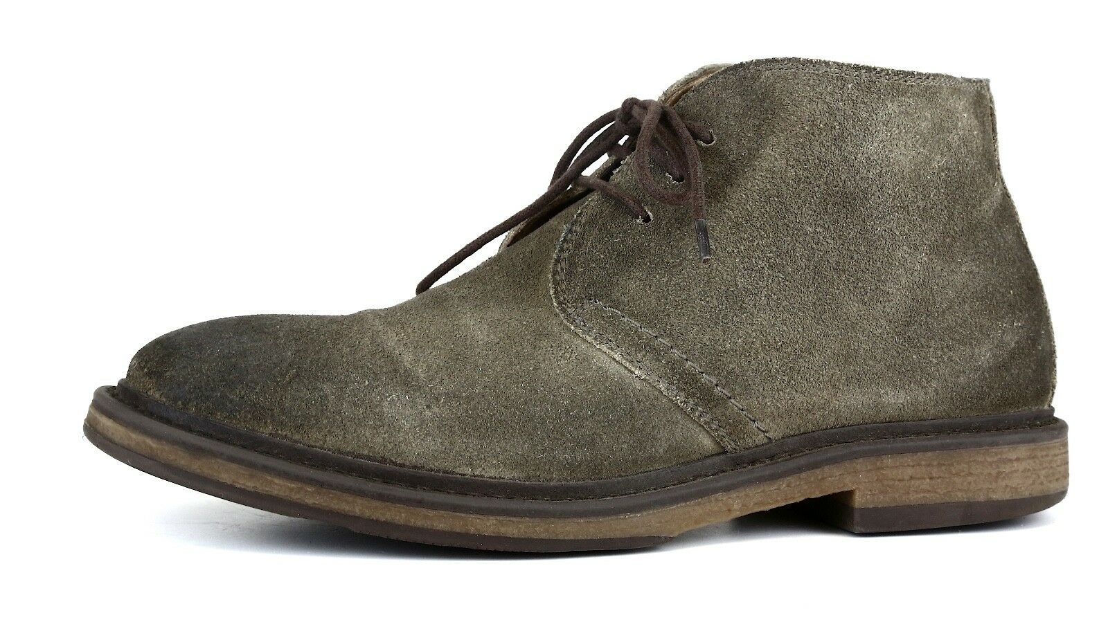 1901 Canyon Suede Chukka Boot Grey Men Sz 7.5 M 1032