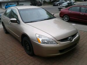 2003 Honda Accord, automatic, barely driven