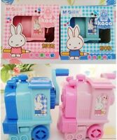 M&g Miffy Pencil Sharpener Cute Rabbit Cartoon Kawaii Stationery Train School