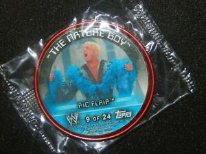 2006-Topps-Metal-Insider-WWE-Wrestling-Coin-Card-RIC-FLAIR-9-of-24
