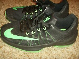 Details about Nike 869991 004 Black Green Air Max Infuriate Basketball Shoes Size 7 Youth