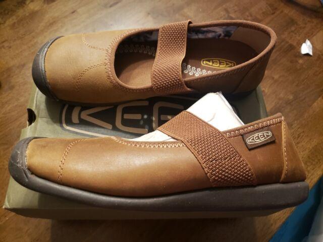 B Keen Hush Knit MJ Size 7 M Canteen EU 37.5 Women/'s Mary Jane Shoes Brindle