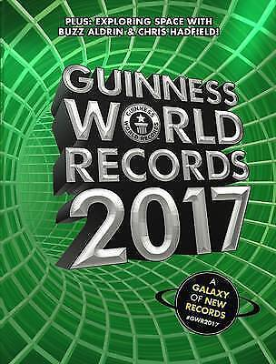 1 of 1 - Guinness World Records 2017 by Buzz Aldrin Book   NEW Free Post AU