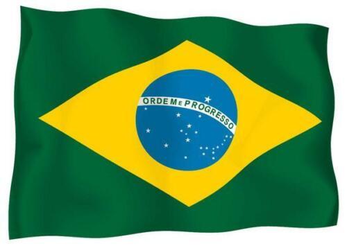 Decal Sticker Flag Exterior Vinyl Car Motorbike Brazil Brazilian