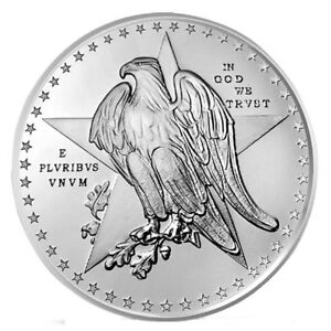 Golden State Mint Texas Commemorative 1 oz. Silver Round GEM BU SKU54987