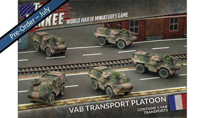 TFBX03 - VAB TRANSPORT PLATOON - TEAM YANKEE - SENT FIRST CLASS -
