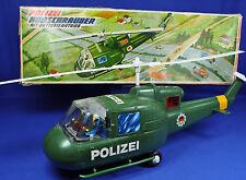 T.N.Nomura Japan Polizeihubschrauber m. Batterie / Police Helicopter w. Battery
