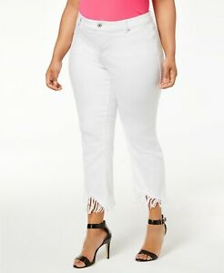 INC-International-Concepts-Plus-Size-Fringed-Cropped-Jeans