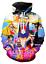 MenWomen-3D-Print-Anime-Sailor-Moon-Casual-Hoodie-Sweatshirt-Jacket-Pullover-Top miniature 17