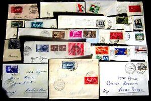 Repubblica-Storia-Postale-Lotto-da-21-buste-con-commemorativi