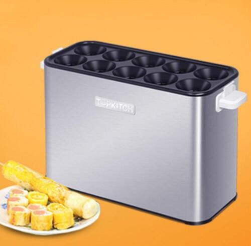 Petit Déjeuner Machine à saucisses Machine grillé Saucisse d/'œufs automatique ROLL MACHINE M