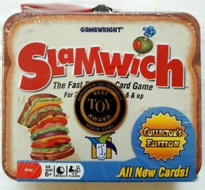 Gamewright-Slamwich-Collector-039-s-Edition-Card-Game-Kids-Toys-Hobbies-Tin-Lunchbox