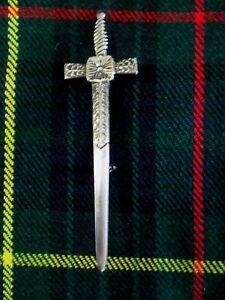 NEW Celtic Sword (Antiqued Nickel Finish) Kilt Pin Accessory for Kilts