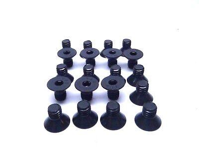 "Lot of Brighton 5//16/""-18x2 1//4/"" Button Socket Cap Alloy Thermal Black 12"