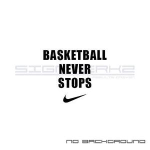 Pair Never Mlb Swoosh Stops Baseball Nike Decal Sticker Basketball MjLpGqSUzV