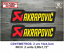 Sticker-Vinilo-Decal-Vinyl-Aufkleber-Adesivi-Autocollant-Akrapovic-SA-Exhaust miniatura 4