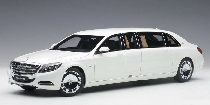76296 AUTOart 1 18 Mercedes  Maybach S600 Pullhomme blanc model voitures  magasin d'offre