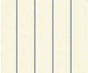 5 Pvc Vertical Blind Replacement Slat Smooth Ivory 84