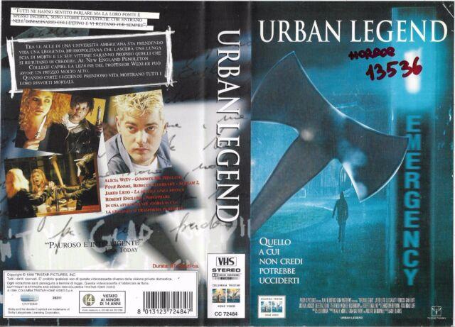 URBAN LEGEND (1998) vhs ex noleggio