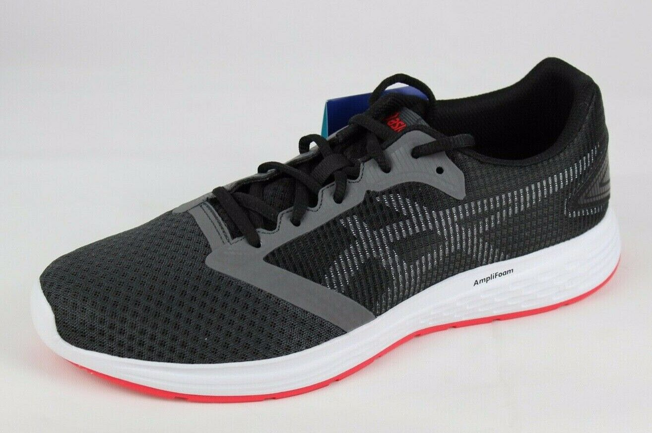 Asics amplifoam patriot 10 men's running black comfort style 1011A131 size 9.5