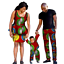 thumbnail 18 - Traditional African Family Clothing Matching Father Mother Son Baby Sets V11590
