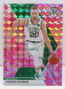 Gordon-Hayward-2019-20-CAMO-PINK-MOSAIC-PRIZM-Refractor-Card-119-Boston-Celtics