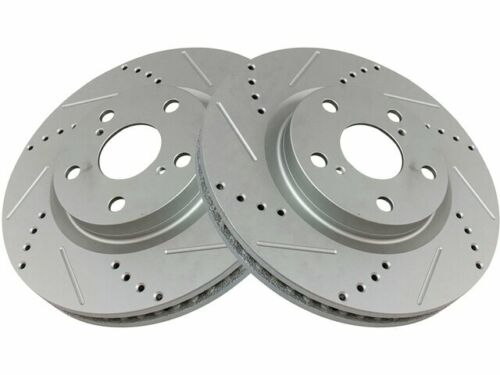 For 2007-2017 Toyota Camry Brake Rotor Set Front 81683VX 2008 2009 2010 2011