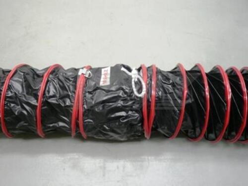 Warmluftschlauch 250 mm ID Lufttransportschlauch Luftförderschlauch bis 80 Grad