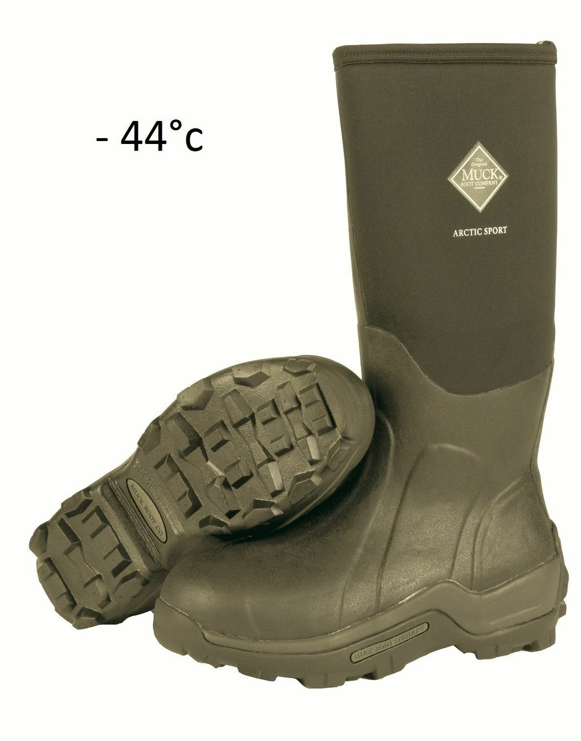 Genuine Muck Boots-Arctic SPORT era Tay NUOVO SPORT EXTRA FODERA muckboot NUOVO Tay STOCK 78cf90
