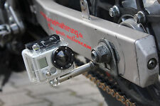 Supporto TELECAMERA PER MOTO m6 con Adattatore m8-per GoPro o Actioncam