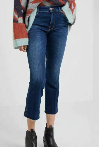 7 For All Mankind 7FAM Skinny Boot Jeans melpink Ladies bluee Pants 25 L32