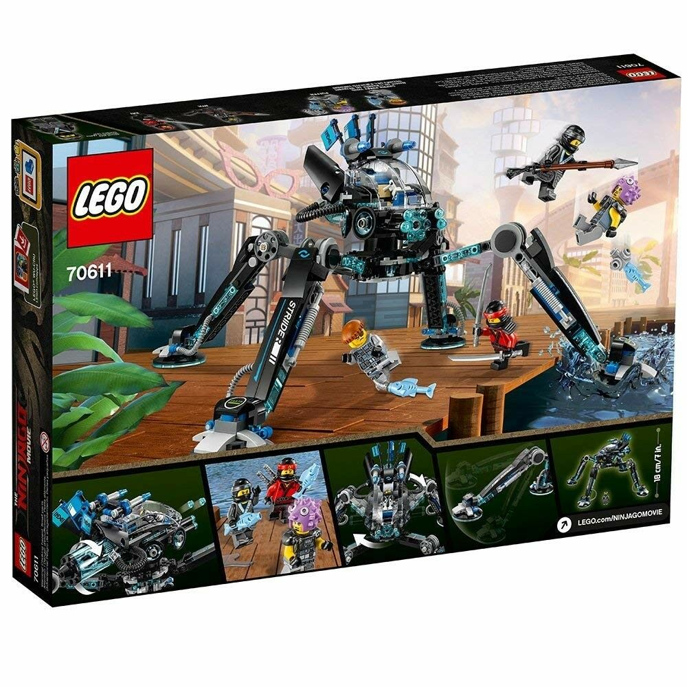 LEGO Ninjago Movie Water Strider Minifigures  Complete Set Box Sealed New Gift