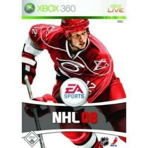 Microsoft Xbox 360 juego - NHL 08 en el embalaje usado