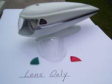 vintage bicycle light Lens schwinn balloon delta hawthorne elgin JC Higgins part