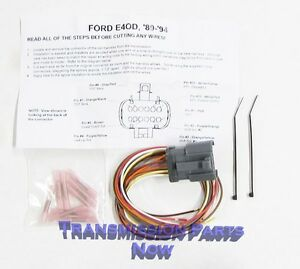 ford transmission connector repair wiring repair e4od 4r100 1989image is loading ford transmission connector repair wiring repair e4od 4r100