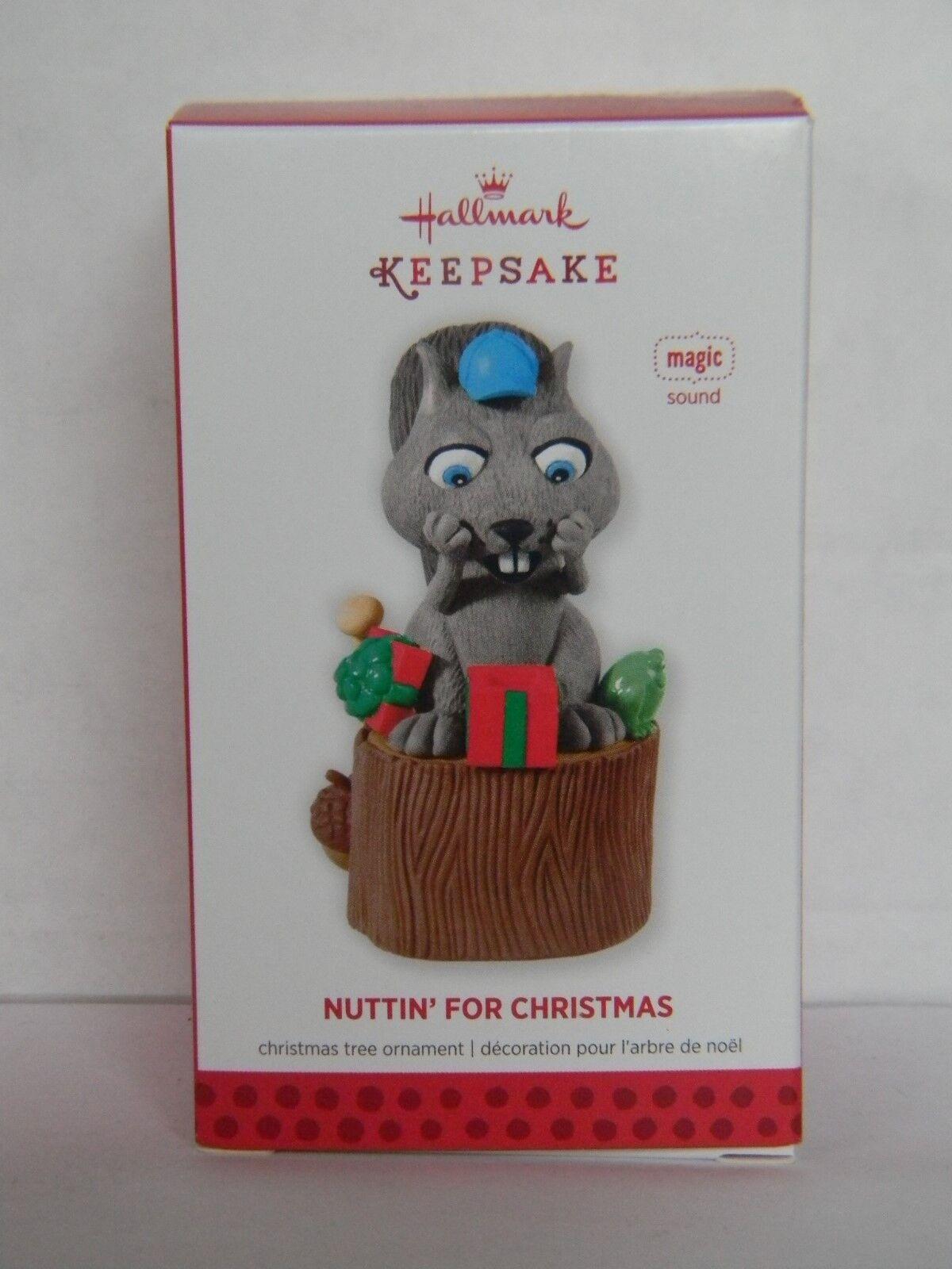 Nuttin for Christmas Hallmark 2013 Squirrel Magic Sound Ornament | eBay
